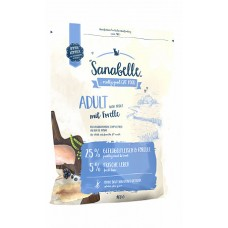 Sanabelle Adult с форелью сухой корм для кошек