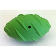 """SuperDesign игрушка для собак """"Регби"""" резиновый с пищалкой 13 см"""