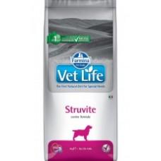 Vet Life Dog Struvite диетическое питание для собак при мочекаменной болезни для подавления образования и растворения струвитных уролитов(В АССОРТИМЕНТЕ)