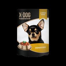 X-Dog из курицы в соусе 85 гр, пауч