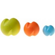 Zogoflex игрушка для собак мячик Jive S 6,6 см голубой