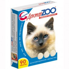 Доктор Zoo Мультивитаминное лакомство Здоровый иммунитет д/кошек
