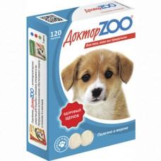 Доктор Zoo Мультивитаминное лакомство для щенков 60 таб