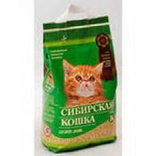 Сибирская кошка наполнитель  древесные гранулы для котят