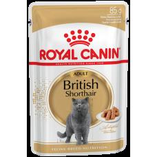 Роял канин д/кошек Британская соус 0.085кг  пауч