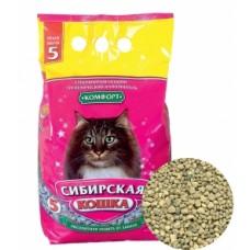 Сибирская кошка наполнитель  впитывающий, Комфорт