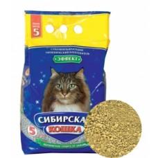 Сибирская кошка наполнитель впитывающий, Эффект