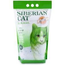 Сибирская кошка наполнитель силикагелевый впитывающий, Элитный Эко