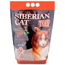 Сибирска Кошка биоразлагаемый комкующийся наполнитель Тофу Кофе